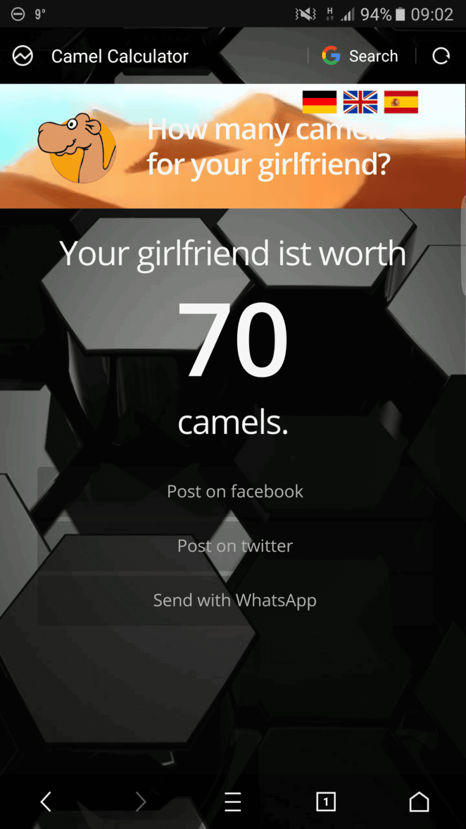 How Many Camels Is Your Girlfriend : camels, girlfriend, Camels, Wife/girlfriend?, Mobile, Football, Games, Forum, (MFG), Neoseeker, Forums