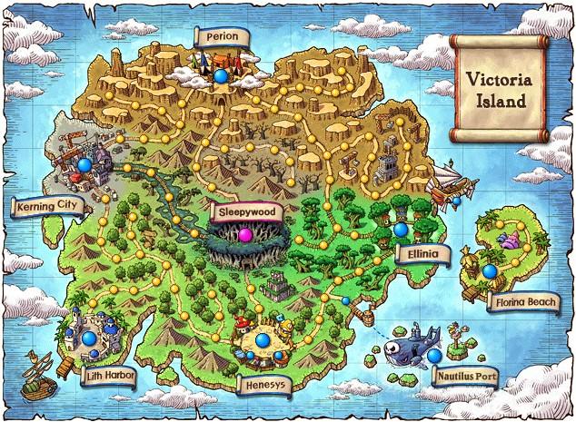 Maps  MapleStory Wiki  Neoseeker