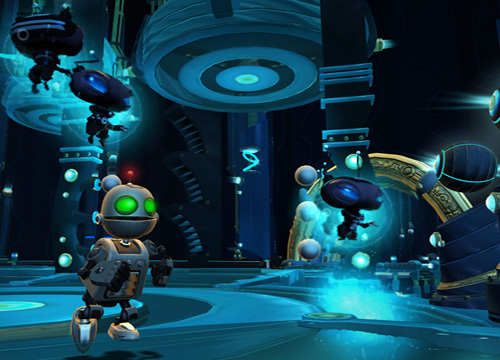 Ratchet and Clank robots