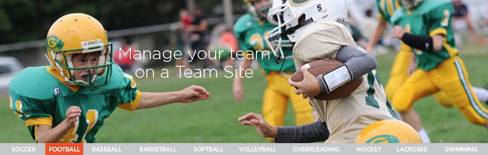 free sports team websites