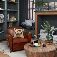 Refined Rustic Living Room | Shutterfly