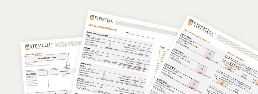 Templates and Spreadsheets to Maximize Your Lab Efficiency