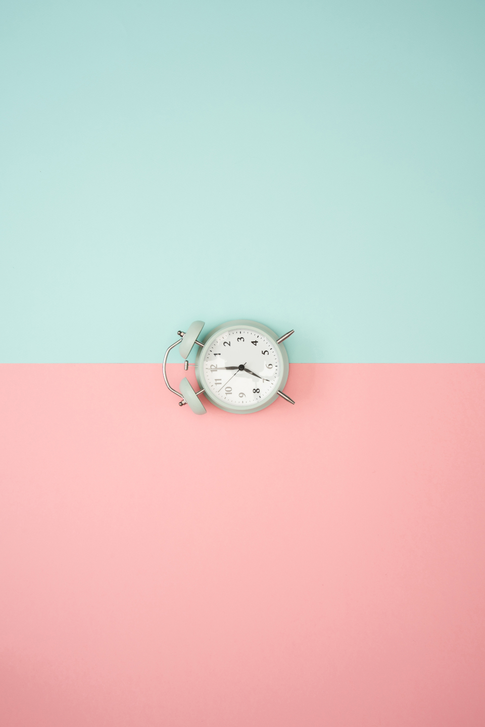 Cute Dog Background Wallpaper Free Photo Of Clock Pastel Background Blue Stocksnap Io