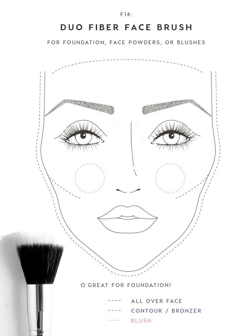 Colourpop Brush - Duo Fiber Face Brush
