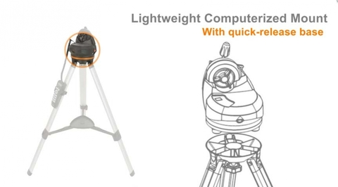 Celestron LCM Computerized Tripod