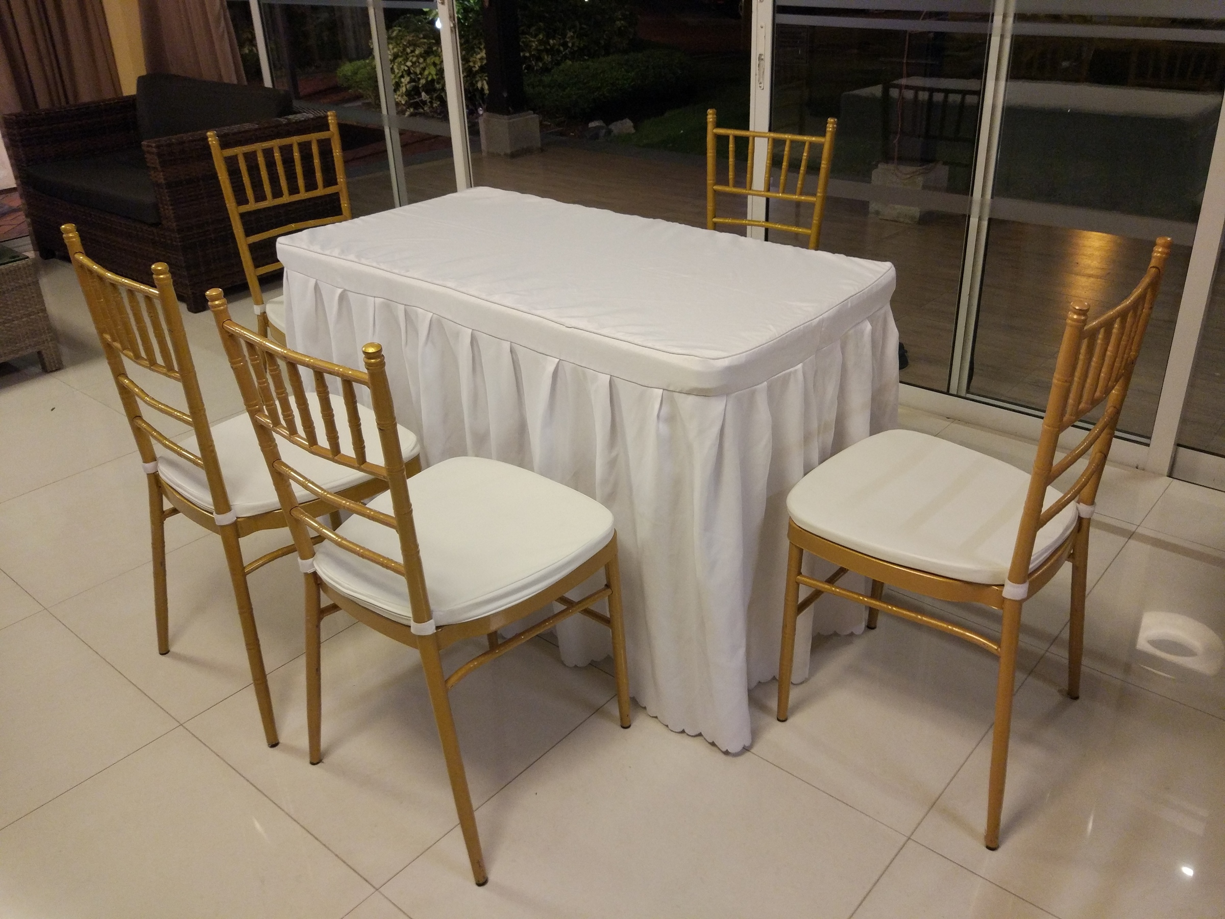Chairs And Table Rental Rom Table And Chairs Rental Set B Hehdeal Sg