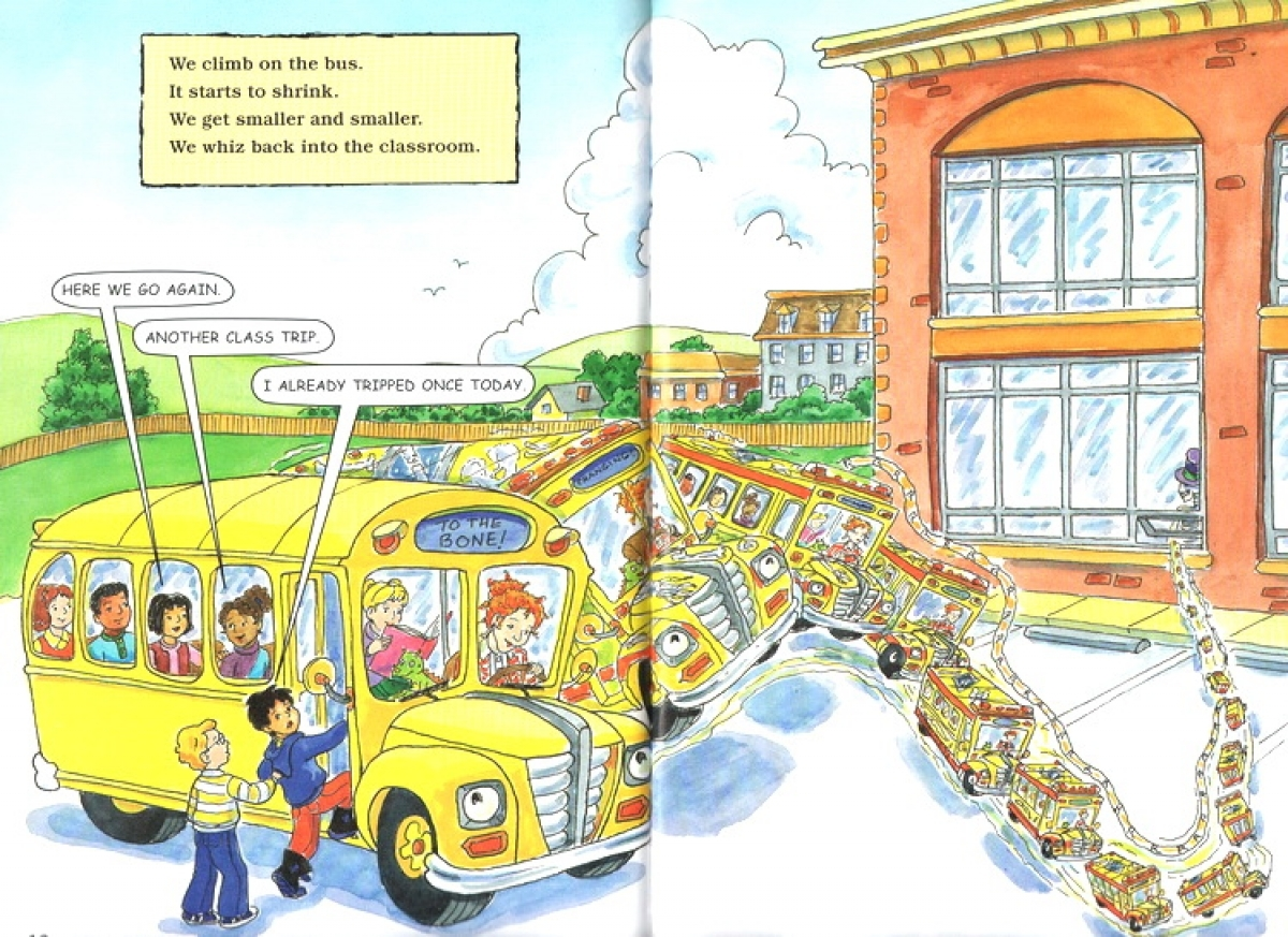 Magic School Bus Science Readers A Toysdirect