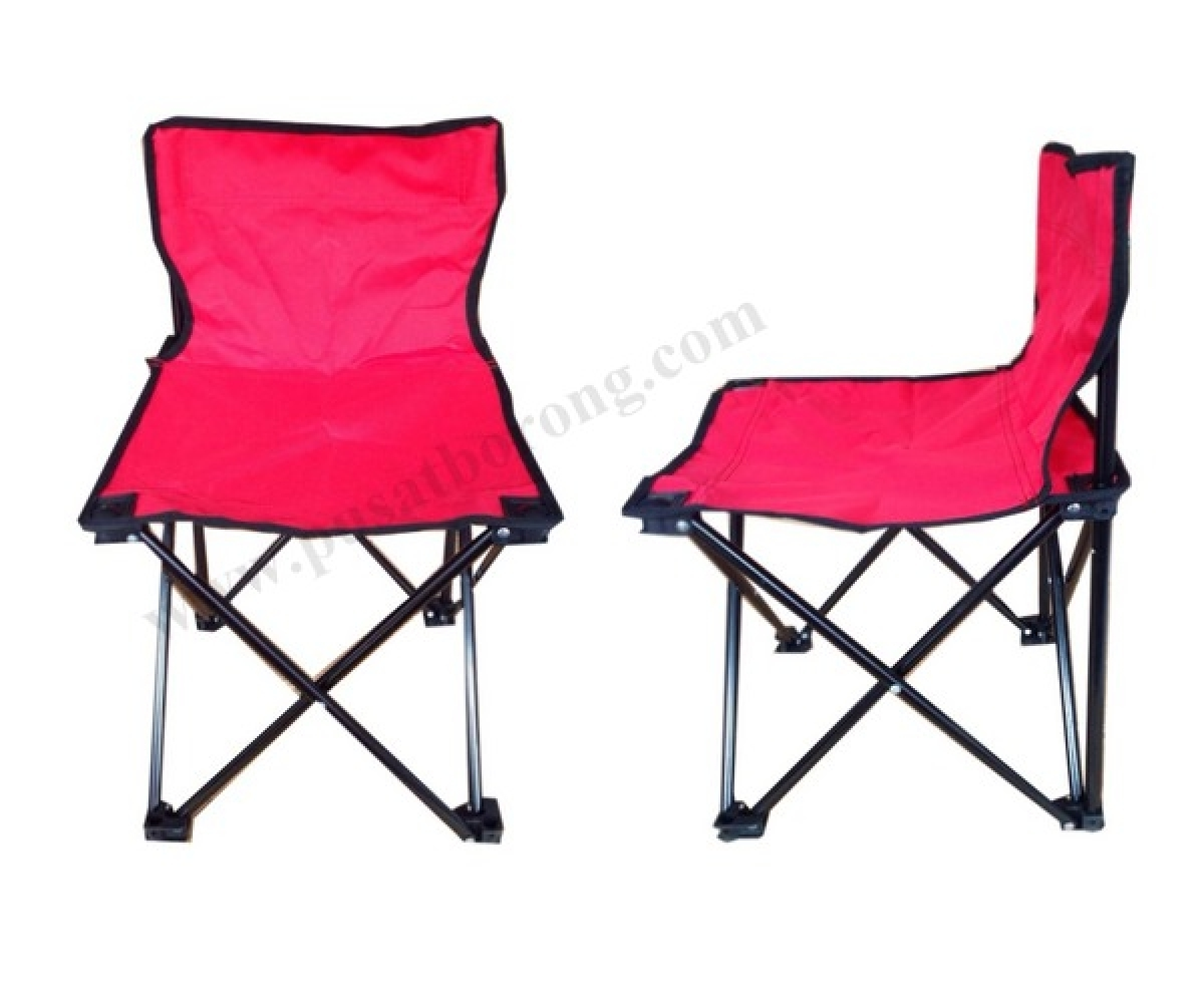 Small Camping Chair Foldable Camping Chair Small With Backrest Kerusi Khelah Kecil