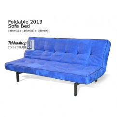Foldable Sofa Chair Malaysia Dallas Cowboys Office Tekkashop Fs2013 Button Tuft Bed