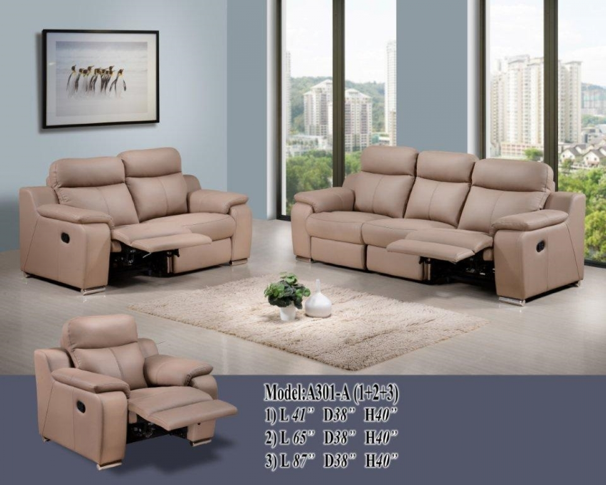 3 2 leather sofa set very small recliner caesar 1 model r a301 a 1490261709 1839967 z