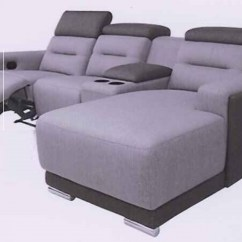 Foldable Sofa Chair Malaysia Chairs With Casters L Shape Recliner Set Water Proof Fabric Model R