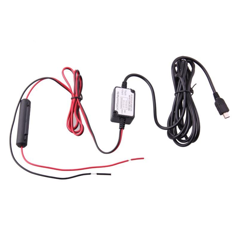 Dash Cam Hardwire Kit-Mini USB
