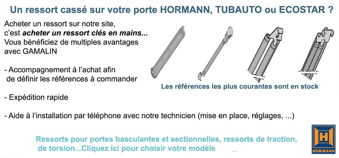 Pieces Detachees Portes De Garage Hormann Tubauto Ecostar La Toulousaine