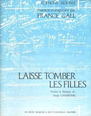 Laisse Tomber Les Filles Paroles : laisse, tomber, filles, paroles, Partition, France, Laisse, Tomber, Filles