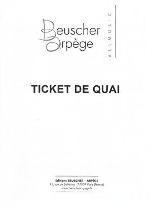 Annie Philippe Ticket De Quai : annie, philippe, ticket, Partition, Annie, PHILIPPE, Ticket