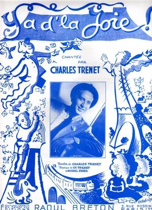 Charles Trenet Y'a D'la Joie : charles, trenet, y'a, d'la, Partition, Charles, TRENET