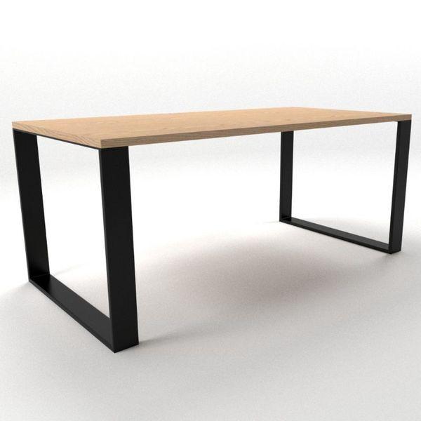Pieds De Table En U 10 X 2 Cm Pietement Metal Industriel Loftboutik