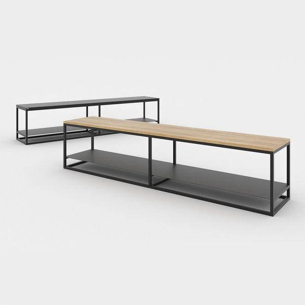 meuble tv xl design scandinave