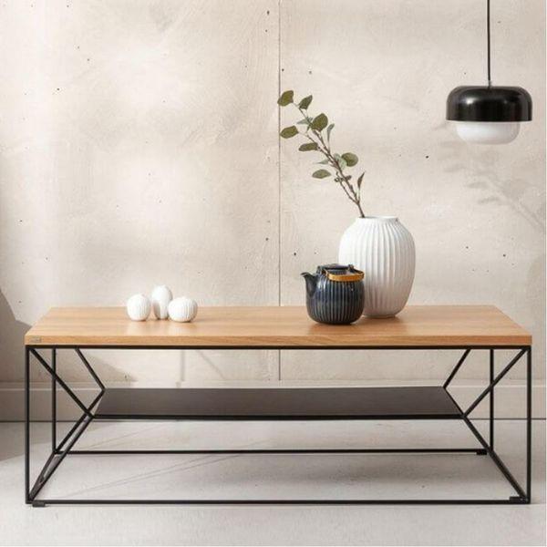 table basse noire maxim