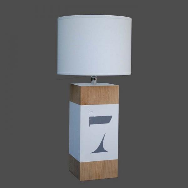 lampe design en bois
