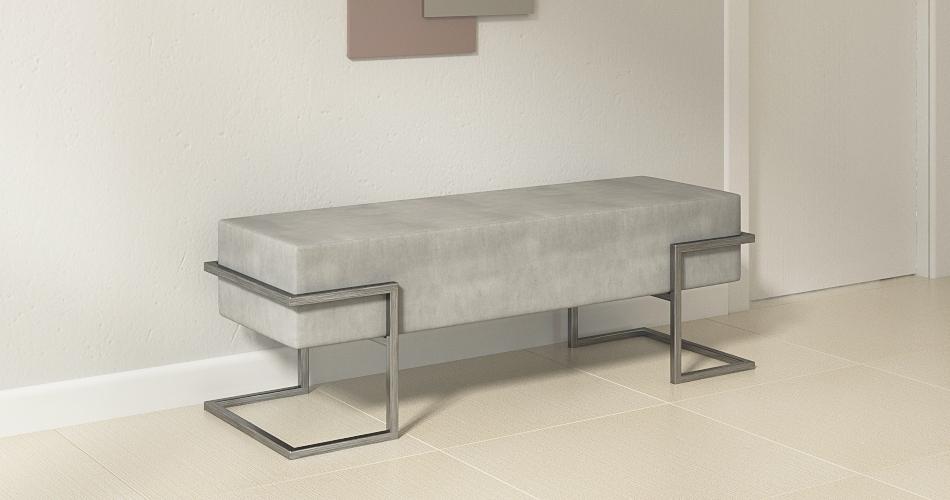 banc loft metal mobilier design