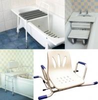 chaises et bancs de bain