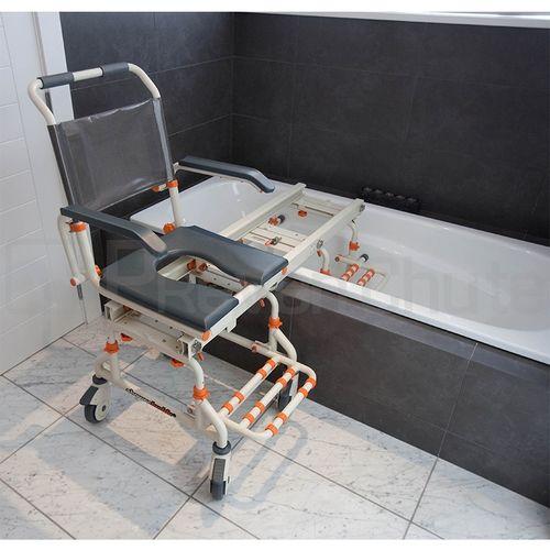 fauteuil de baignoire coulissant showerbuddy