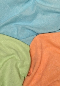 tissu lin chine coloris des tissus en stock aqua nyl abricot