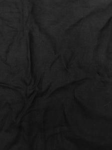tissu lin noir vendu au metre en noir