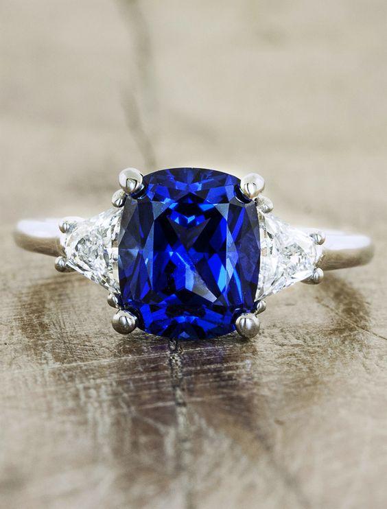 13 Amazing Color Engagement Rings WeddingMix Blog