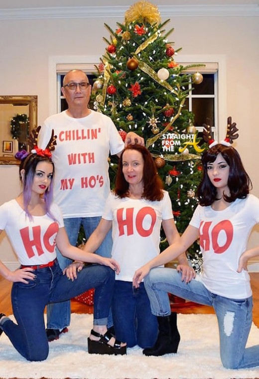 Funny Or Nah Ho Ho Ho Family Christmas Card Goes Viral