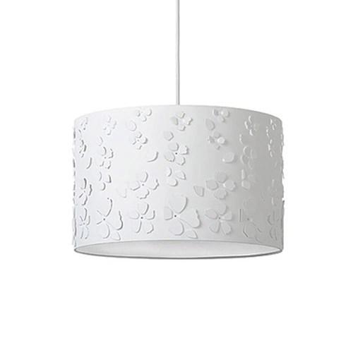 Bloemen hanglamp wit kindertienerkamer  Straluma