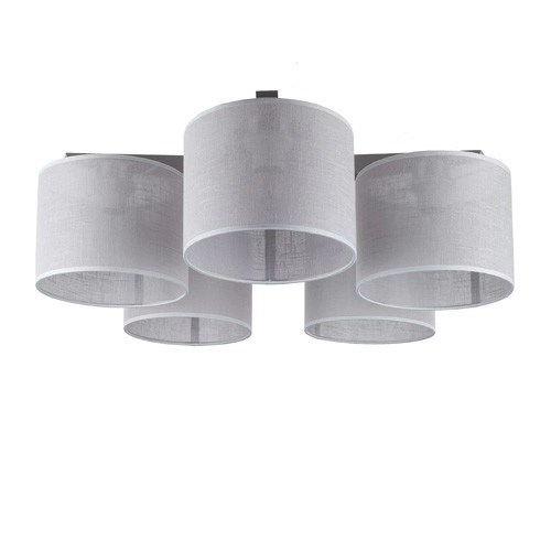 Slaapkamer plafondlamp met 5 kappen  Straluma