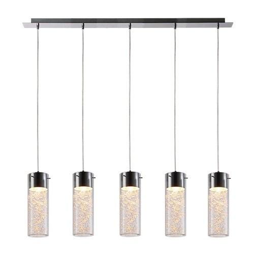 Veelzijdige decoratieve hanglamp glas  Straluma