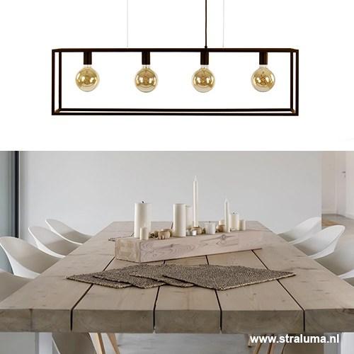 awesome strak klassieke eetkamer hanglamp bruin with