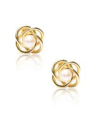 LeCalla | Love Knot Stud Earrings | Shop Earrings at ...