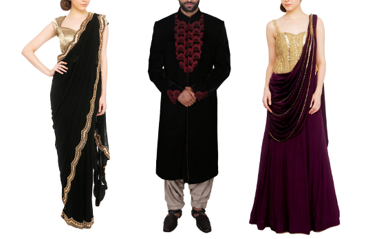 How to Match Indian Wedding Reception Outfits For Couples