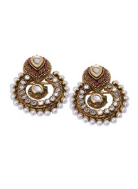 Shillpa Purii | Antique Finish Kundan Earrings | Shop ...
