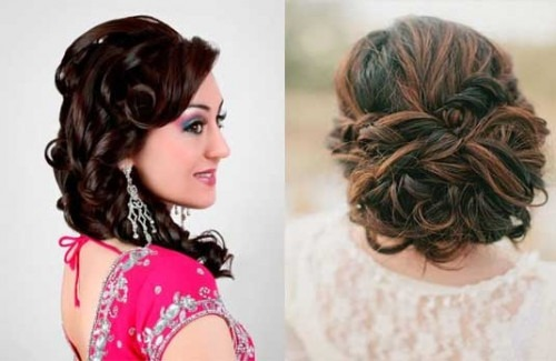 seven indian bridal hairstyles