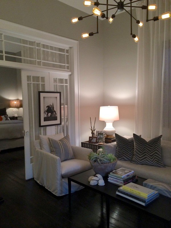 living room paint colors with dark hardwood floors warm for furniture making the most of small space great design