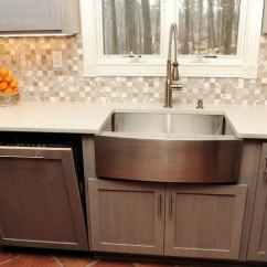 Kitchen Aid Mixer Cover Island Ideas Re-do: Cabinets Make A Huge Difference!