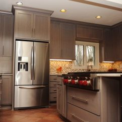 Kitchen Redo Swinging Doors Residential Re Do Cabinets Make A Huge Difference For The Home Chef
