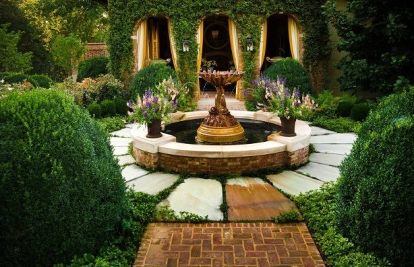 gorgeous small fountains