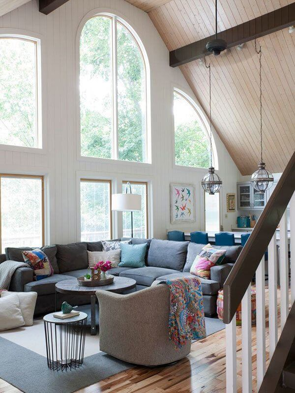 lake house living room photos interior design ideas for narrow rooms a like you ve never seen lanier wheelchair accessible home the outside comes in with these gorgeously large