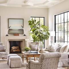 Arranging Furniture In Small Living Room With French Doors Design Brown Leather Interior Designer Crush: Chenault James Of ...