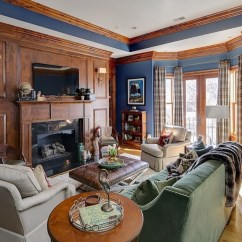 Crescent Sofa Leather Sofactory Canape D Angle Convertible A Cozy Chic Condo In The Heart Of Hill