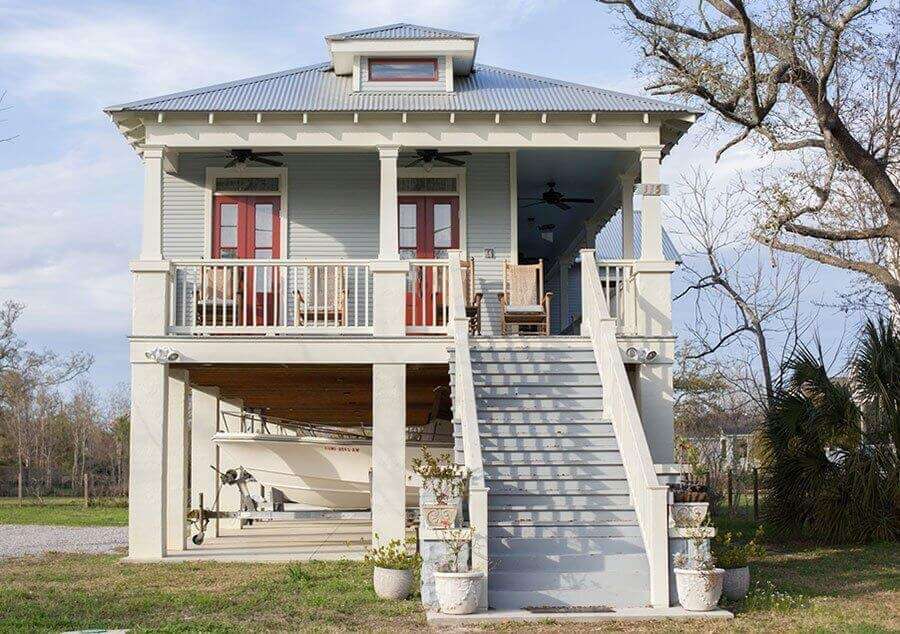 The Look And History Behind Southern Home Design | Home Design With Outside Stairs | 2 Story House | Single Floor | Unique | Second Floor | Exterior