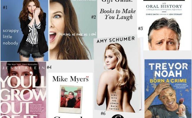 Gift Guide 2016 Books To Make You Laugh Styled To Sparkle