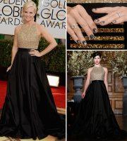 red carpet nails 2014 golden globes