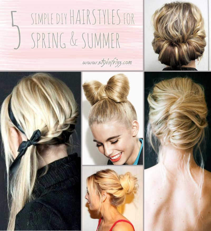 You'll Need These 5 Hair Tutorials For Spring And Summer! StyleFrizz
